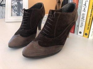 Varese Escarpins à lacets brun foncé