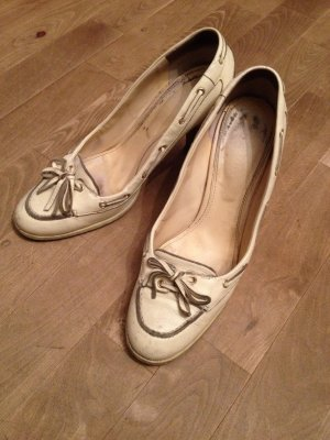 Pumps bally in Creme 39