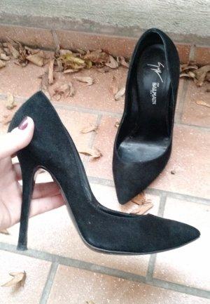 Pumps Balmain for Giuseppe Zanotti Gr. 38 schwarz klassisch high heels designer