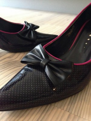 +++ Pumps Barbie + Rockabilly HighHeels + only replay Lackpumps + gothic polkadots