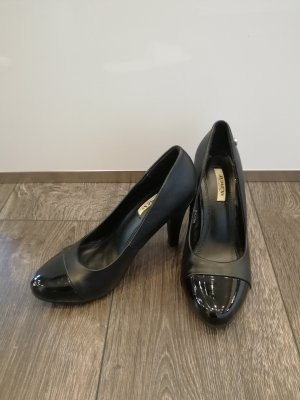 Jumex High-Front Pumps black synthetic material