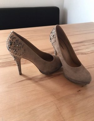 Catwalk High Heels light brown