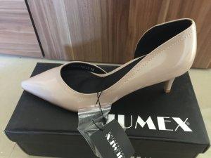 Pumps beige lack von Jumex