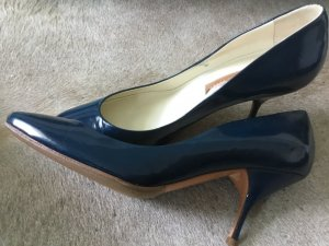 Pumps blau Lackleder, neu, 37, Rupert Sanderson, London