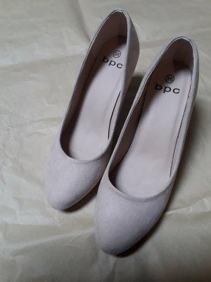 b.p.c. Bonprix Collection High Heels cream-beige