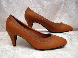 Zapatos Oxford con puntera marrón Sintético