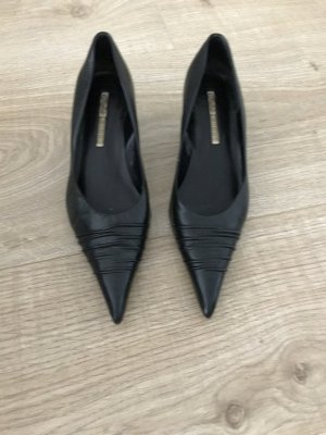 Pumps buffallo in schwarz