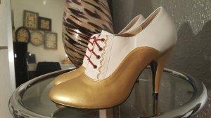 Pumps-Burlesque Gold Diva/Glam Rock