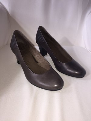 Caprice Pumps taupe-grey brown