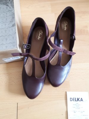 Pumps Clarks violett