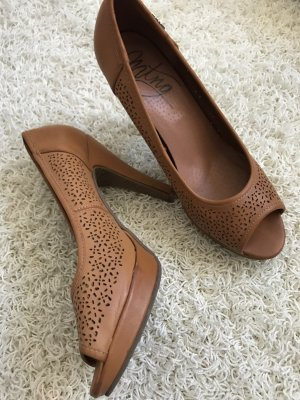 Pumps Cognac