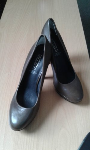 5th Avenue High Heels multicolored leather