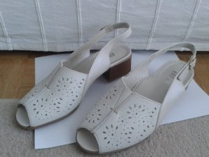 ara High Heel Sandal white leather