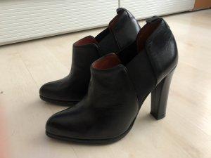 Made in Italy Stiletto noir cuir