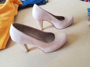 Tamaris Zapatos de cuña color rosa dorado