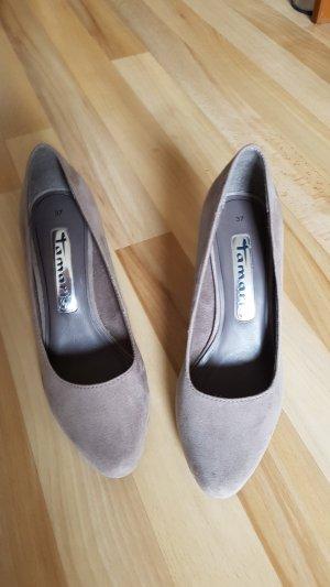 Tamaris Tacones gris claro