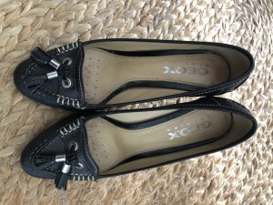 Geox Business Shoes black-white leather
