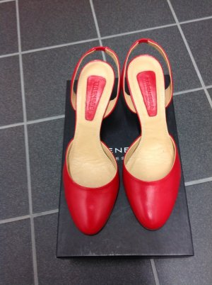 Pumps gr. 38,5 rot Strenesse