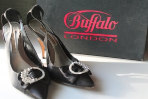 Pumps Gr. 39 Buffalo Strass Schwarz