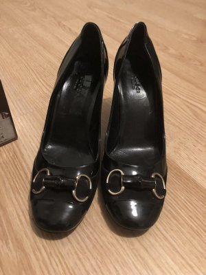 Pumps Gucci elegant Lack schwarz Grösse 41