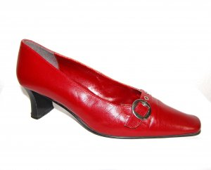 Pumps - Halbschuhe in rot von Made in Italy Gr. 40