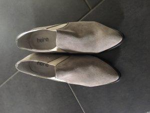 Heine Décolleté accollato grigio chiaro Scamosciato