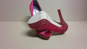 Pumps High Heels Damen Schuh Größe 37 NEU Pink