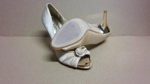 Pumps High Heels Damen Schuh Größe 38 NEU Gold