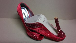 Pumps High Heels Damen Schuh Größe 38 NEU ROT