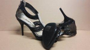 Pumps High Heels Damen Schuh Größe 38 NEU Schwarz