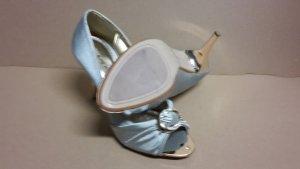Pumps High Heels Damen Schuh Größe 38 NEU Silber
