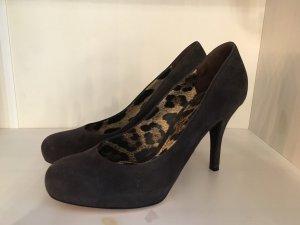 Dolce & Gabbana Talons hauts brun noir-brun foncé daim