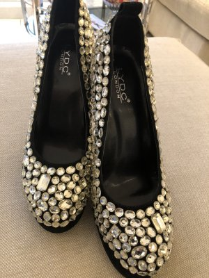 Pumps High heels glitzer strass grösse 49