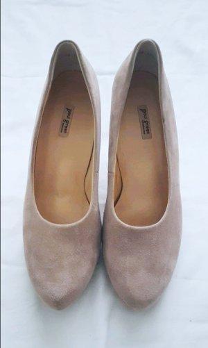 Pumps high heels mit Leder basic business