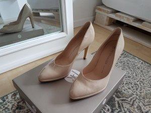 Pumps High heels Nude Lack Leder Peter Kaiser NEU