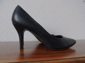 Pumps / High-Heels / schwarz / black / klassisch / Office / Basic / Pfennigabsatz / Heels