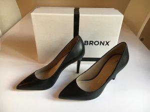 Pumps High Heels schwarz Gr. 38 Bronx