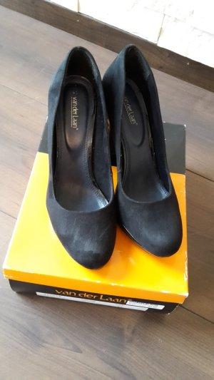 Pumps High Heels schwarz Lack Gr.41 Tamaris Van der Laan