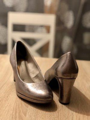 Tamaris Décolleté con plateau argento-grigio