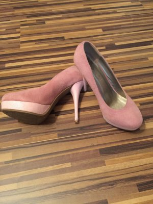 Pumps in blassen Rose