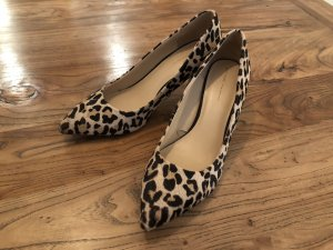 Pumps in Leoparden-Muster