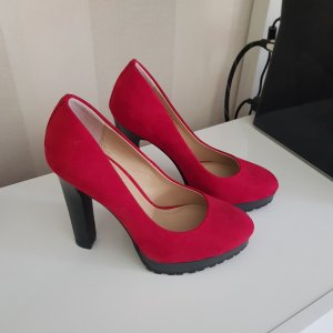Pumps in Rot gr.37 Neu