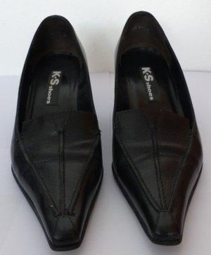 Pumps K+S Shoes Gr. 39, schwarz