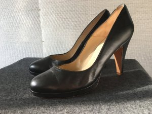 Paco Gil High Heels black leather
