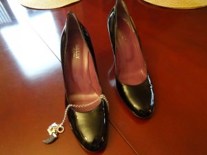 Bally High Heels black leather