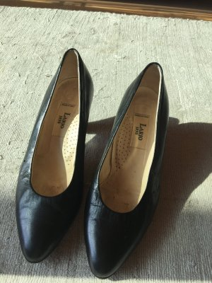 Lario Escarpins Mary Jane noir cuir