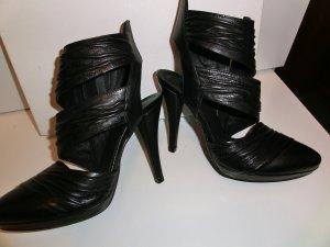 Tacones negro Cuero