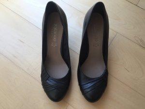 Pumps Lederpumps Zalando Shoes Größe 39 schwarz 1x getragen