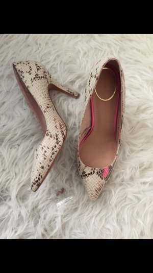 Pumps leo pink Blogger stylisch