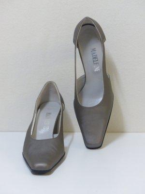 Madeleine Escarpins gris-argenté synthétique